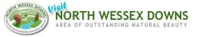 Visit NWD AONB logo
